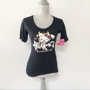 Tokidoki X Hello Kitty Y2K t shirt fitted